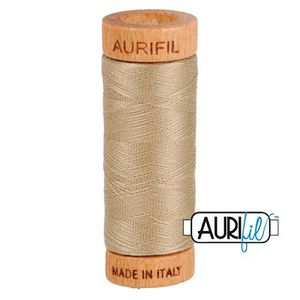 Aurifil 1080-2325 Cotton Mako Thread 80wt 280m LINEN