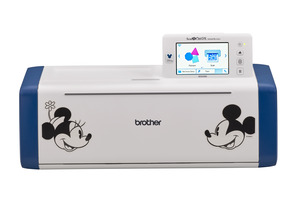 "Brother SDX230D Disney ScanNCut DX Innov-is Edition Digital Cutter, 5"" LCD Panel*"