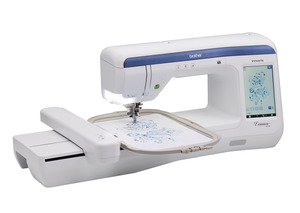 "94764: Brother VE2300 Essence Embroidery Machine 8x12"" Hoop with 17 Embroidery Fonts and 318 Designs"