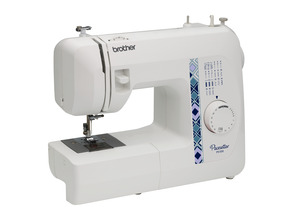 Brother Pacesetter PS100 Sewing Machine, 17 Built in Stitches, One Step Buttonhole Replaces Simplicity SB170