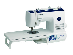 Brother Pacesetter PS200T, Replaces Simplicity SB530T,  Sewing & Quilting Machine, 53 built-in sewing stitches, Quilters Bundle (a $100 value), included Built-in threading system