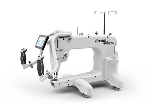 "94815: Brother DQLT15X 15"" Mid-Arm Quilting Machine, 15"" x 8"" workspace, Up to 2000 stitches per minute, 5"" LCD touch screen display"