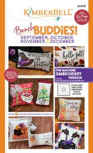 Kimberbell KD576 Bench Buddies September, October, November, December - Sewing Version