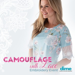 DIME Camouflage With Lace Event 2 DAY March 20-21 San Antonio Retail Store