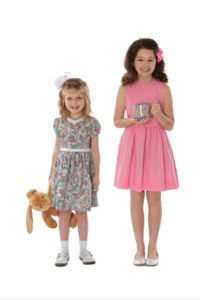 95090: Childrens Corner CC302L Victoria Dress Sewing Pattern Sizes 7-14