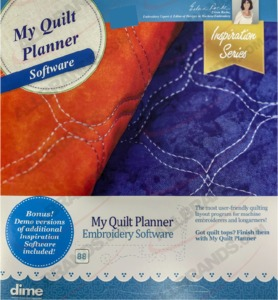 64353: Inspirations My Quilt Planner In the Hoop Embroidery Software