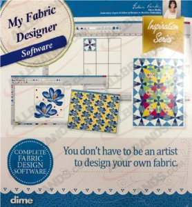 80998: DIME Inspirations My Fabric Designer Software