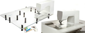 95147: Sew Steady SST Portable Extension Table and Clear Acrylic Insert COMBO