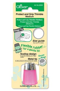 72451: Clover CL6026 Protect & Grip Thimble - Medium