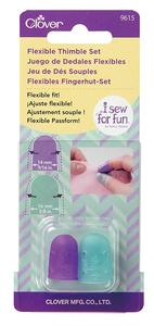 95183: Clover CL9615 I Sew For Fun Flexible Thimble Set