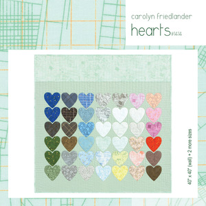 Carolyn Friedlander CF1414 Hearts Quilt PDF Pattern