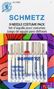 95203: Schmetz S-1850 Costume Needle Combo 9-Pack