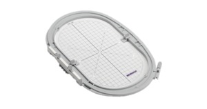 88701: Bernina 030870.74.00 LARGE OVAL HOOP 145x255