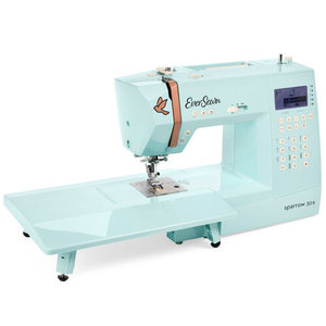 95301: EverSewn Sparrow 30S Mint Green 310 Stitch Computer Sewing Machine