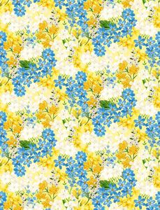 Wilmington Prints 1406 28134 515 Madison Small Floral Yellow