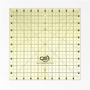 "Quilter's Select QS-RUL10X10 10""X10"" Non-Slip Deluxe Quilting Ruler"