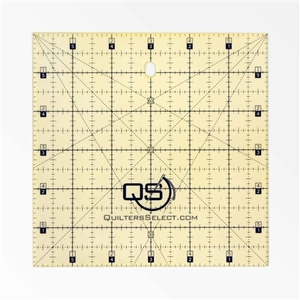 """Quilter's Select QS-RUL6x6 6""""X6"""" Non-Slip Deluxe Quilting Ruler"""