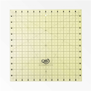 """Quilter's Select QS-RUL12X12 12""""x12"""" Non-Slip Deluxe Quilting Ruler"""