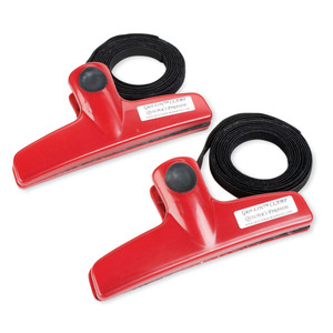 95368: Grip-Lite QPGL2 Side Clamps - Red for Quilting Frames