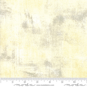 "Moda Grunge Basics Cream 30150 160 100% cotton pattern  45"" Fabric"