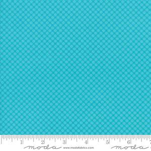 Moda 22384 11 Fiddle Dee Dee Turquoise
