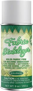 95486: Sullivans SUL00121 Fabric Stabilizer Adhesive Spray Can 9oz, Washes Away