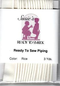 Susie's Ready to Smock Piping Rice