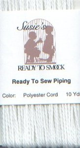 Susie's Ready to Sew Piping Polyester Cording 10YD