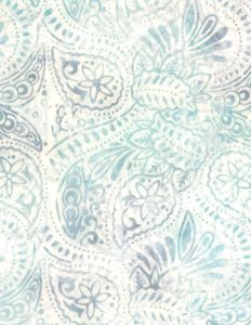 Wilmington Prints 1400 22243 140 Packed Paisley Cream/Blue