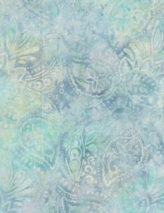 Wilmington Prints 1400 22243 144 Packed Paisley Blue/Green