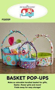 The Fat Quarter Gypsy FQG129 Basket Pop-Ups
