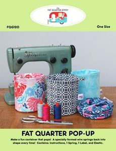 The Fat Quarter Gypsy FQG120 FQ Pop Up Pattern