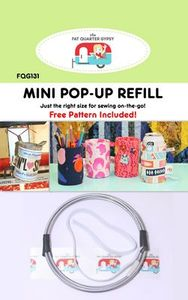 The Fat Quarter Gypsy FQG131 Mini Pop-Up Refill