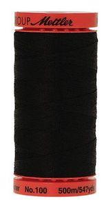 95709: Mettler 9145-4000 Metrosene Plus Thread 500m 5 Spools Black, All Purpose Poly