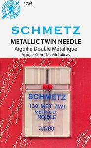 Schmetz S-1754 Double Metallic Twin Needle 3.0/90