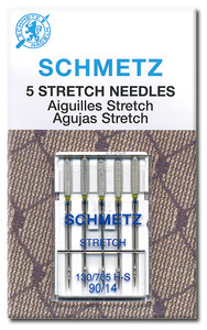 66904: Schmetz S-1713 Stretch Needles 5-pk sz 14/90