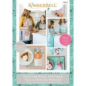 Kimberbell KD577 Over the Edge Applique