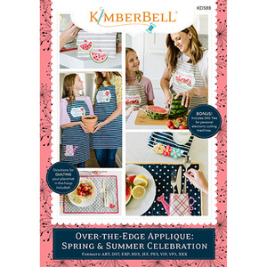 Kimberbell KD588 Over-the-Edge Applique: Spring & Summer Celebration Embroidery CD