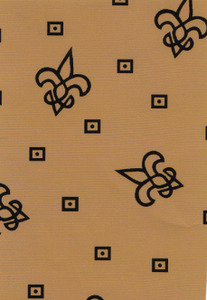 Fabric Finders 1465 Gold/Black by the yard