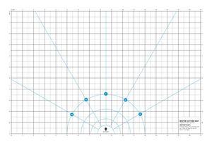 Daylight U35033 Wafer 2 Cutting Mat Clear FS 17x11 Inches