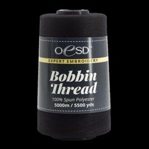 OESD OESDBOB-BLK, Expert Bobbin Thread Black, 5500 Yards, 5000M Spun Poly 60wt.