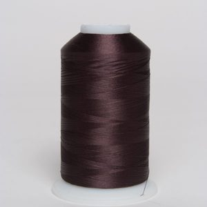 94665: Exquisite Polyester Embroidery Thread Large Cone x891 Mahogany 5000m