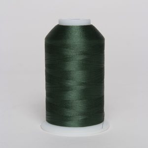 94667: Exquisite Polyester Embroidery Thread Large Cone x995 Spruce 5000m