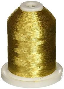 56627: Robison Anton 1003 Gold Metallic Embroidery Thread 5500 Yards