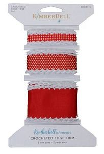 95676: Kimberbell KDKB176 Crochet Edge Trim
