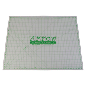 95945: Arrow Cabinets MAT-C Clear Cutting Mat 36in x 48in for Dixie Table