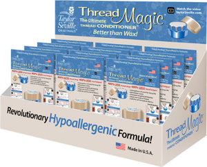 Taylor Seville TMDISP-R Thread Magic Round Counter Thread Conditioners - Pack of 12