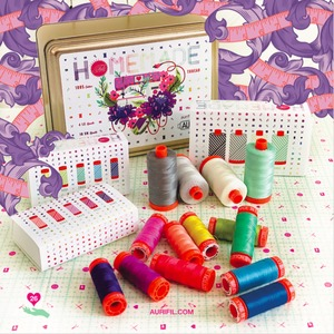 95964: Aurifil Homemade by Tula Pink Thread Kit Italy