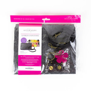 96003: Aster & Anne AAPFK-GCB Georgia Clutch Bag Sewing Kit