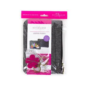 96007: Aster & Anne AAPFK-ZP Zipper Purse Sewing Kit